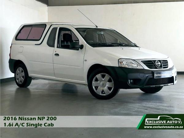2016 Nissan NP200 1.6 Ac Pu Sc  Gauteng Pretoria_0