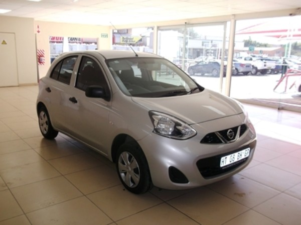 2018 Nissan Micra 1.2 Active Visia Northern Cape Kimberley_0