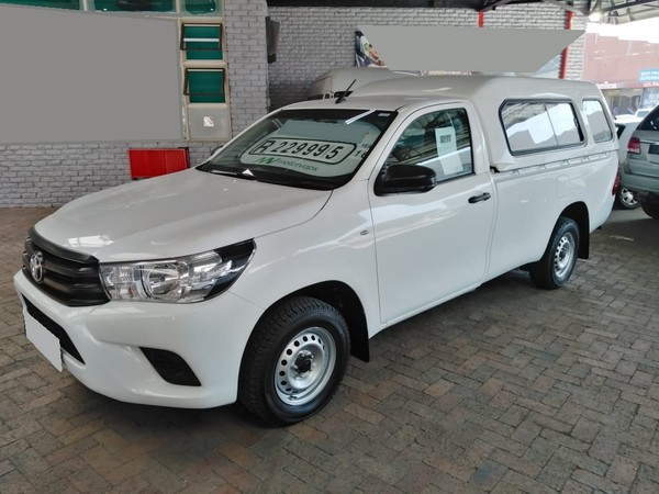 2016 Toyota Hilux 2.4 GD AC Single Cab Bakkie Western Cape Goodwood_0