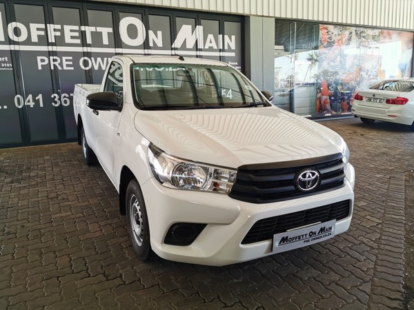 2018 Toyota Hilux 2.0 VVTi AC Single Cab Bakkie Eastern Cape Port Elizabeth_0