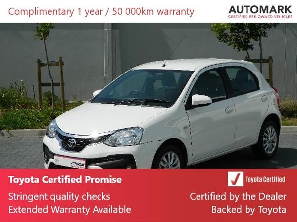 2018 Toyota Etios 1.5 Xs 5dr  Western Cape Rondebosch_0