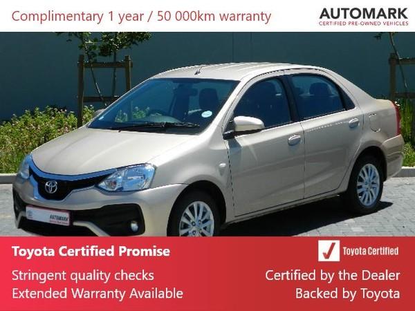 2019 Toyota Etios 1.5 Xs  Western Cape Rondebosch_0