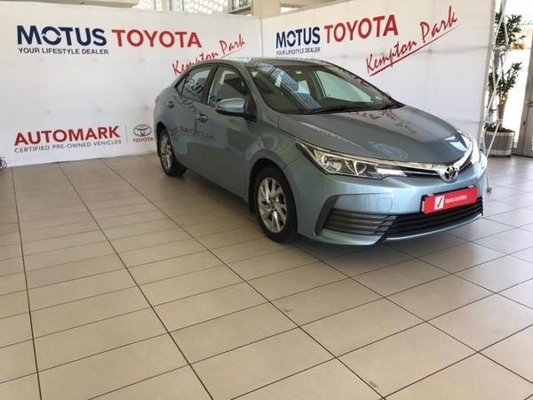 2018 Toyota Corolla 1.6 Prestige CVT Gauteng Kempton Park_0