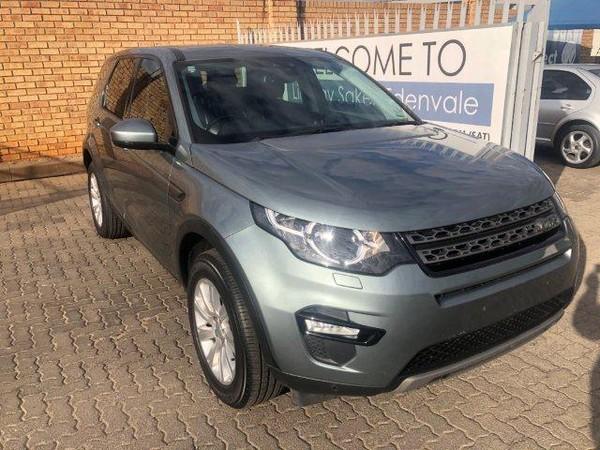 2016 Land Rover Discovery Sport Sport 2.2 SD4 SE Gauteng Edenvale_0