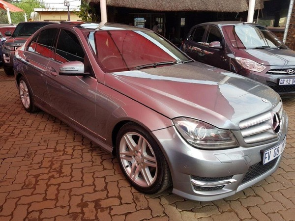 2012 Mercedes-Benz C-Class C200k Avantgarde At  Gauteng Meyerton_0