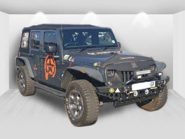 2017 Jeep Wrangler Unltd Rubicon 3.6l V6 At  Gauteng Roodepoort_0