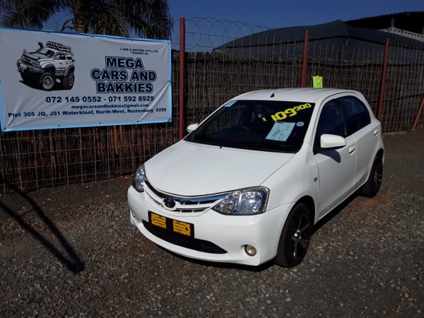 2016 Toyota Etios 1.5 Xs 5dr  North West Province Rustenburg_0