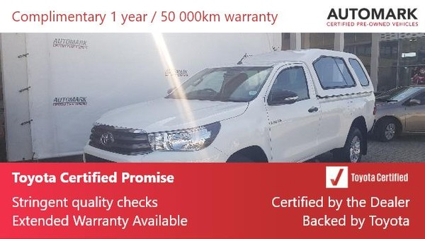 2019 Toyota Hilux 2.4 GD-6 RB SRX Single Cab Bakkie Eastern Cape East London_0