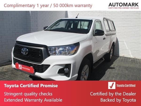 2019 Toyota Hilux 2.4 GD-6 SRX 4X4 Single Cab Bakkie Gauteng Boksburg_0