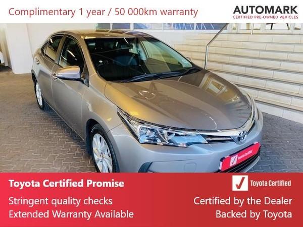 2018 Toyota Corolla 1.6 Prestige CVT Gauteng Roodepoort_0