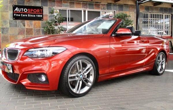 2018 BMW 2 Series 220i Convertible M Sport Auto F23 Gauteng Randburg_0