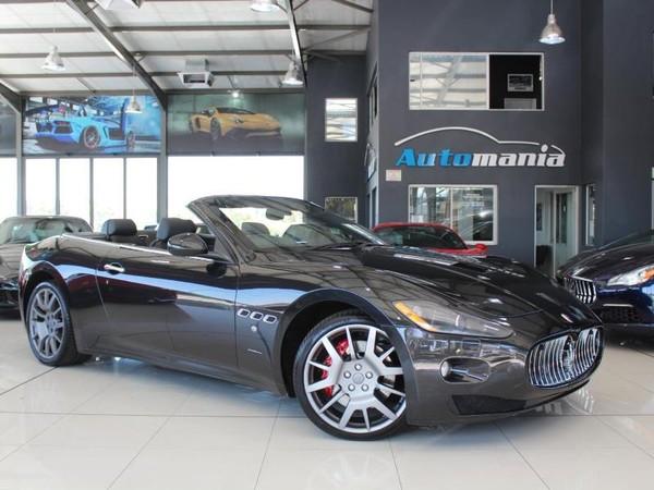 2011 Maserati Granturismo 2011 Maserati GranCabrio GranCabrio Gauteng Kyalami_0