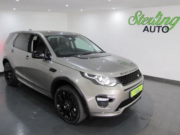 2018 Land Rover Discovery Sport Sport 2.0i4 D HSE LUX Gauteng Pretoria_0