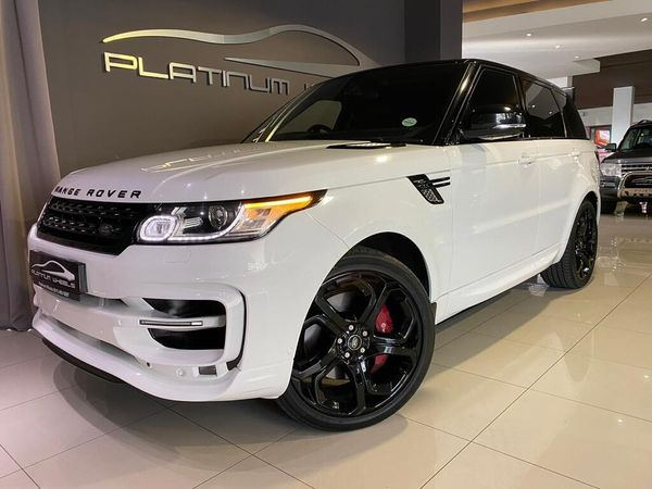 2016 Land Rover Range Rover Sport 5.0 V8 SC HSE DYNAMIC Gauteng Four Ways_0