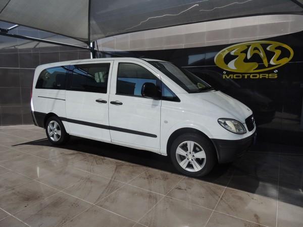 2008 Mercedes-Benz Vito 115 2.2 Cdi Crew Bus  Gauteng Vereeniging_0