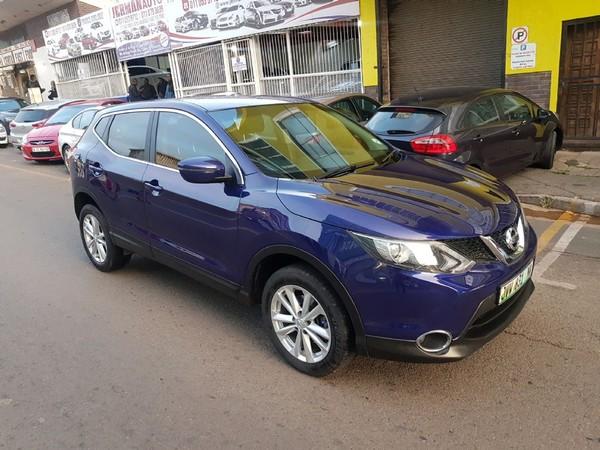 2017 Nissan Qashqai 1.2T Visia Gauteng Jeppestown_0