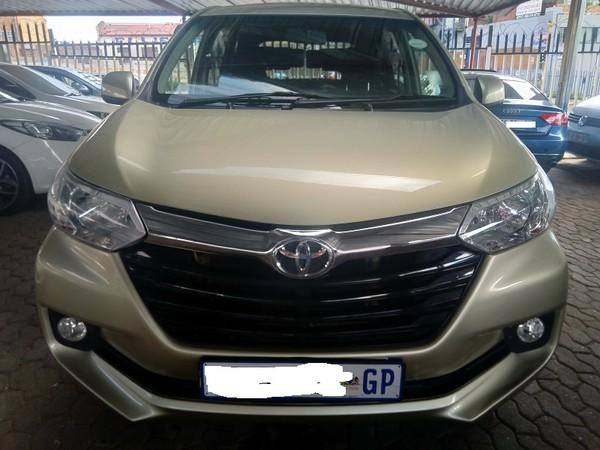 2017 Toyota Avanza 1.5 TX Gauteng Jeppestown_0