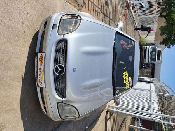 2001 Mercedes-Benz SLK-Class Slk 200 Kompressor At  North West Province Potchefstroom_0