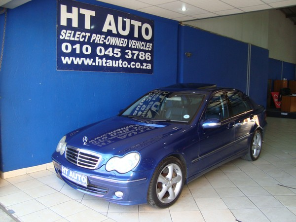 2004 Mercedes-Benz C-Class C200k Avantgarde At  Gauteng Boksburg_0