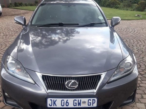 2012 Lexus IS 250 E At  Gauteng Jeppestown_0