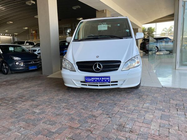 2014 Mercedes-Benz Vito 122 Cdi Shuttle  Gauteng Boksburg_0