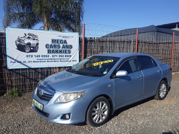 2008 Toyota Corolla 2.0 D-4d Advanced  North West Province Rustenburg_0