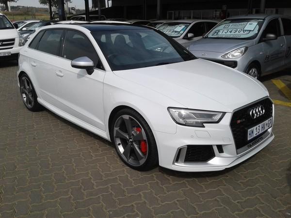 2018 Audi Rs3 Sportack Stronic Gauteng Roodepoort_0