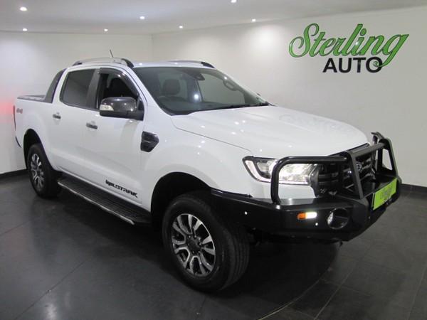 2019 Ford Ranger 2.0TDCi WILDTRAK 4X4 Auto Double Cab Bakkie Gauteng Pretoria_0