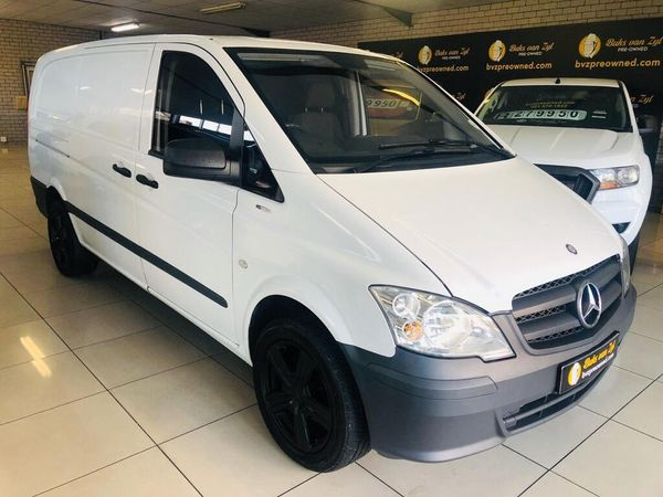 2015 Mercedes-Benz Vito 113 Cdi Fc Pv  Western Cape Paarl_0