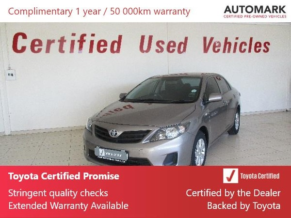 2018 Toyota Corolla Quest 1.6 Plus Free State Bothaville_0