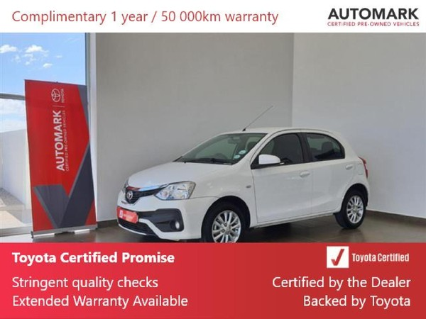 2019 Toyota Etios 1.5 Xs 5dr  North West Province Vryburg_0