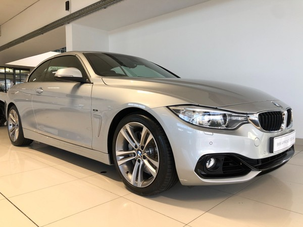 2015 BMW 4 Series 435i Convertible Sport Line Auto Western Cape Somerset West_0