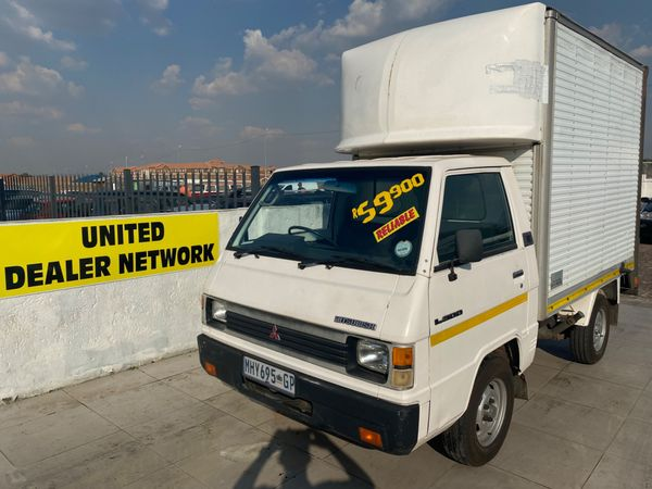 1998 Mitsubishi L 300 2000 Express Drop Side FC DS Gauteng Boksburg_0