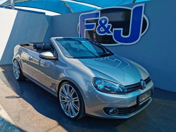 2013 Volkswagen Golf Vi 1.4 Tsi Dsg Cabrio 118kw Hline  Gauteng Vereeniging_0