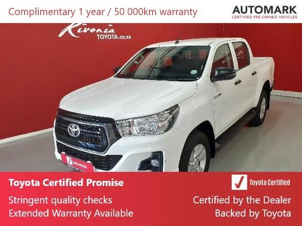 2019 Toyota Hilux 2.4 GD-6 RB SRX Double Cab Bakkie Gauteng Sandton_0