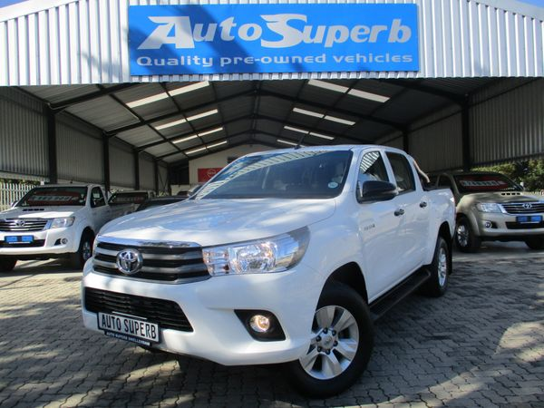 2018 Toyota Hilux 2.4 GD-6 RB SRX Double Cab Bakkie Western Cape Swellendam_0