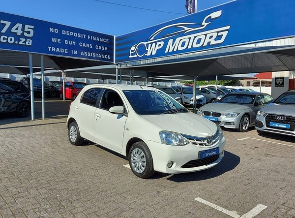 2016 Toyota Etios 1.5 Xs 5dr  Western Cape Bellville_0