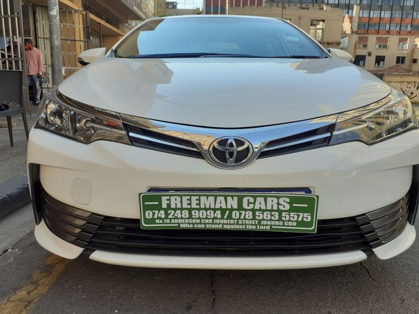 2016 Toyota Corolla 1.4D Prestige Gauteng Johannesburg_0