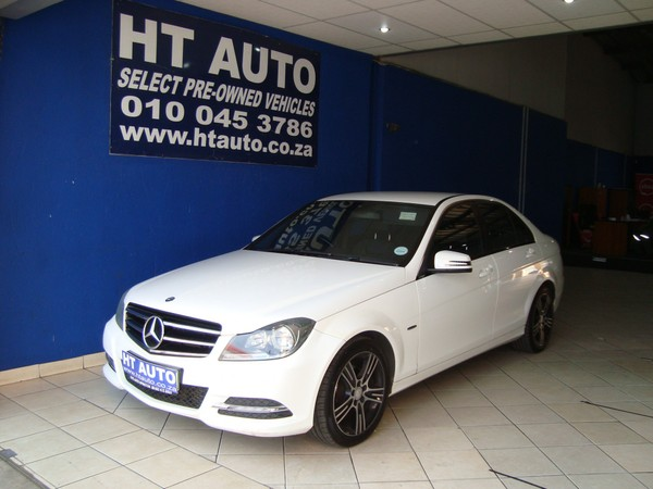 2013 Mercedes-Benz C-Class C200 Be Avantgarde At  Gauteng Boksburg_0