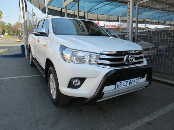2017 Toyota Hilux 2.8 GD-6 Raider 4X4 Double Cab Bakkie Auto Gauteng Johannesburg_0