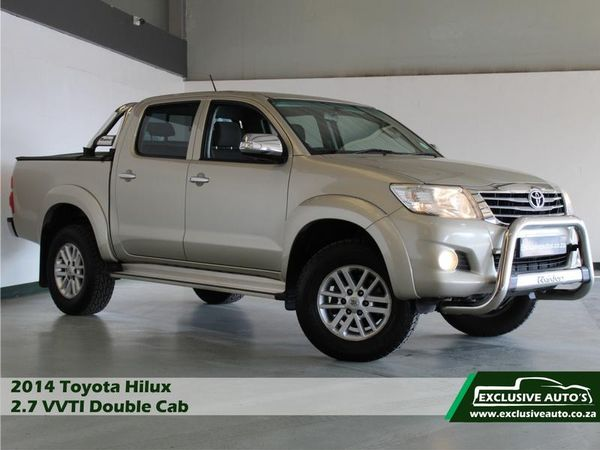2014 Toyota Hilux 2.7 Vvti Raider Rb Pu Dc  Gauteng Pretoria_0