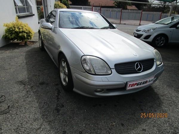 2002 Mercedes-Benz SLK-Class Slk 200 At  Gauteng Bryanston_0