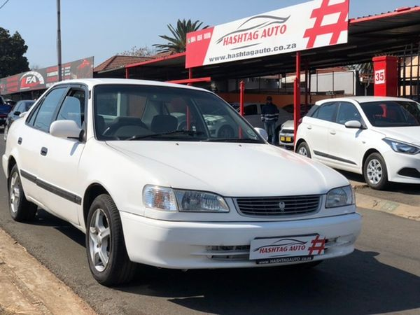 2000 Toyota Corolla 160i Gle  Gauteng Kempton Park_0