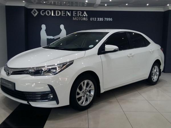 2017 Toyota Corolla 1.8 Exclusive Gauteng Pretoria_0