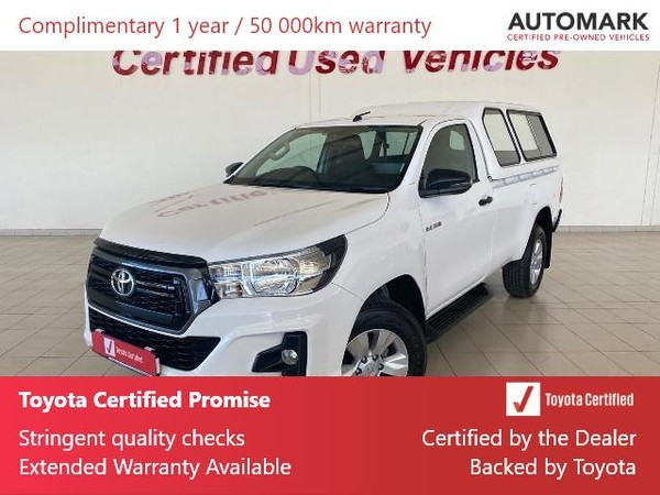 2019 Toyota Hilux 2.4 GD-6 RB SRX Single Cab Bakkie North West Province Klerksdorp_0