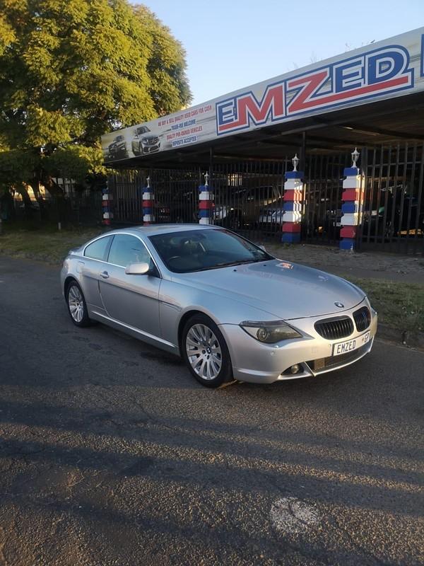 2004 BMW 6 Series 645ci Coupe e63  Gauteng Benoni_0