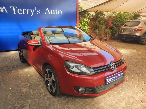 2013 Volkswagen Golf Vi 1.4 Tsi Dsg Cabrio Cline  Gauteng Edenvale_0