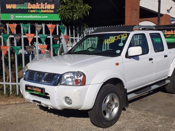 2008 Nissan NP300 Hardbody 2.4i HiRider 4x4 k15k36 Bakkie Double cab Gauteng Pretoria West_0
