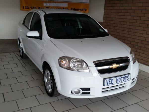 2014 Chevrolet Aveo 1.6 Ls  Gauteng Edenvale_0