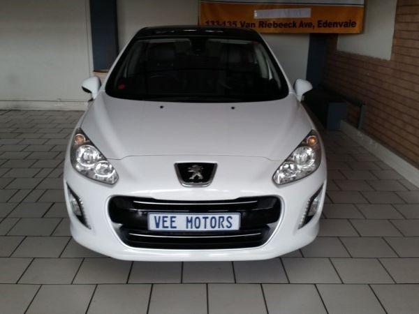 2012 Peugeot 308 1.6 Thp Gti 5dr  Gauteng Edenvale_0